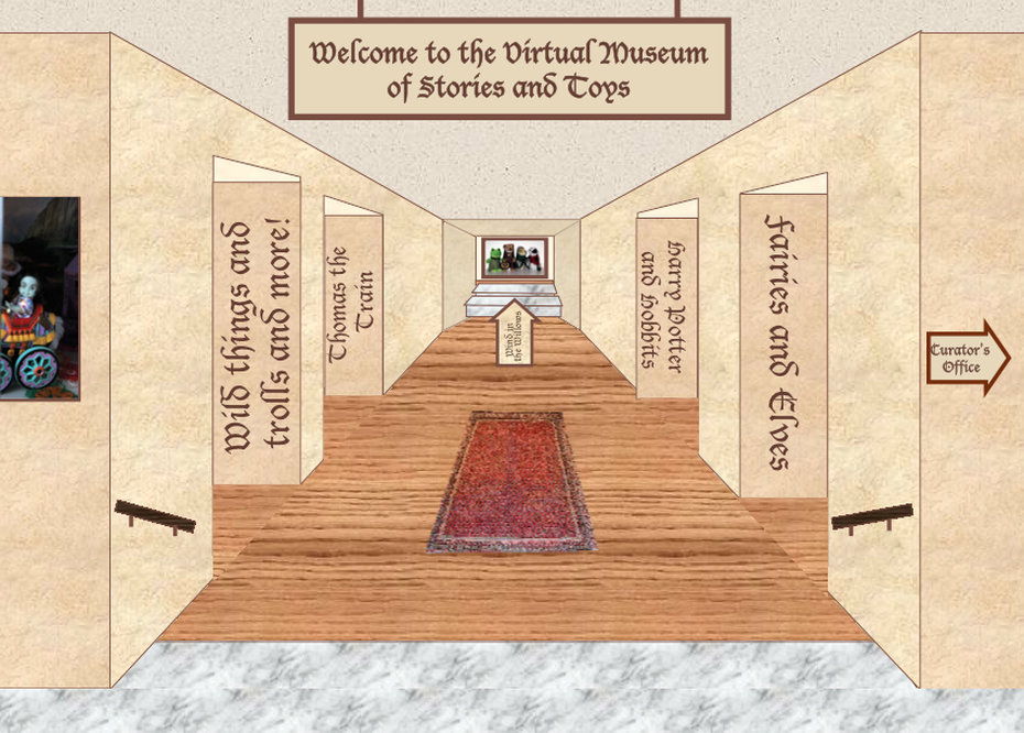 Virtual Museum Of Stories And Toys